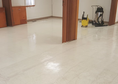 Tile Stripping and Waxing